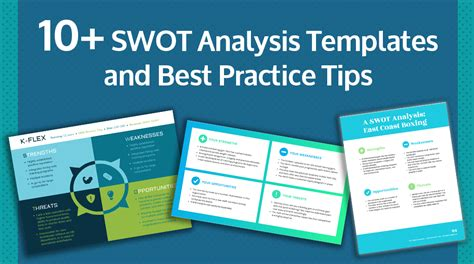 swot analysis templates examples  practices
