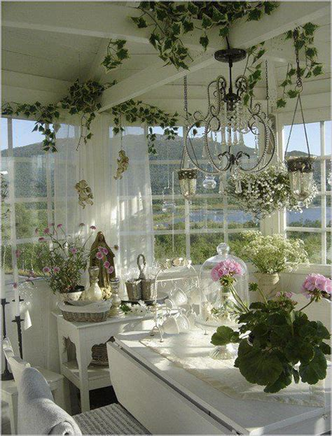 shabby chic sunroom 26 charming and inspiring vintage sunroom d 233 cor ideas digsdigs