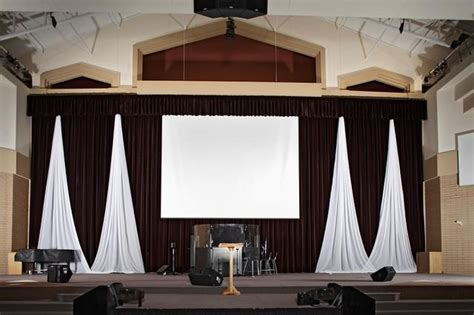 church drapes 1000 ideas about stage curtains on theatre