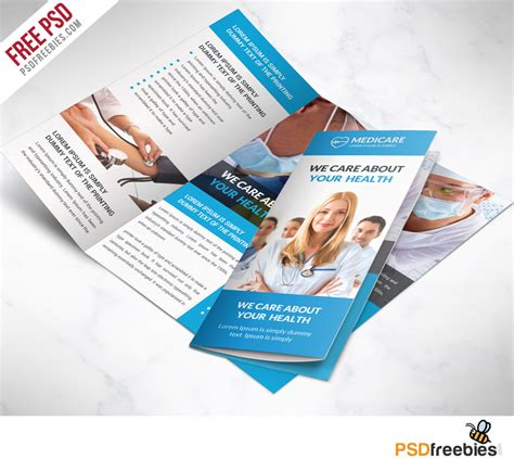 Healthcare Brochure Templates Free Download The Best