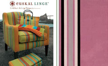 Linge De Maison Basque 3238 by Couleurs Basques Mademoiselle D 233 Co D 233 Co