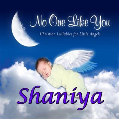Shaniya, I Love You So (shania, Shanya) Di Personalized