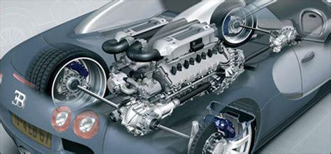 De W16 Motor Van De Bugatti Veyron