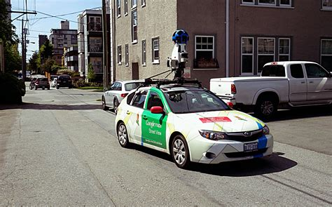 Google Maps Street View Car In Fairview