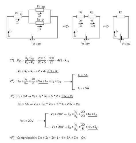 como resolver circuitos mixtos electrica en 2019 el 233 ctrico circuito el 233 ctrico y circuitos