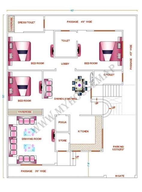 Housemap  Front Elevation Design  House Map Building