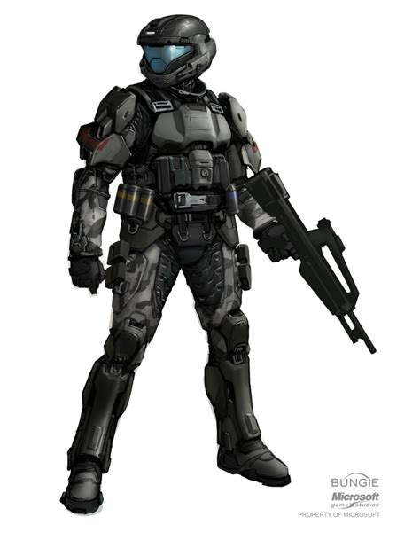 Awesome Halo 3 Odst Concept Art Pictures