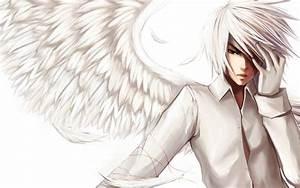 Anime Angel Guy - WallDevil
