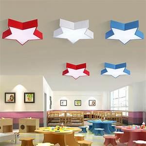 Deckenleuchte Led Kinderzimmer : led deckenleuchte modern stern design im kinderzimmer ~ Markanthonyermac.com Haus und Dekorationen