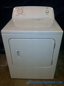 Large Images For New Roper Dryer