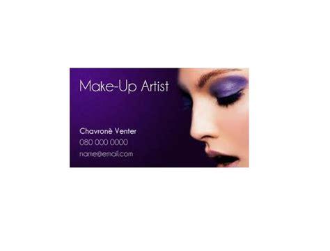 makeup artist business card samples startupguysnet
