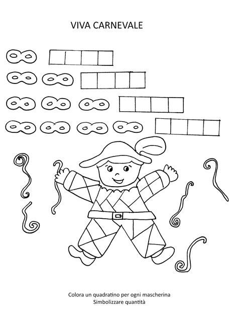 schede di pregrafismo da stare gratis la maestra schede carnevale da colorare