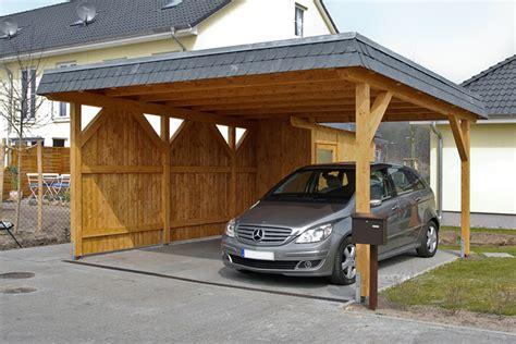 Fachwerk, Exklusiv, Holz & Leimholz Carports Angebot