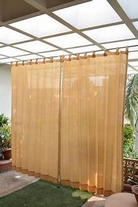 9 beautiful and best outdoor curtains for home styles at With outdoor curtains waterproof