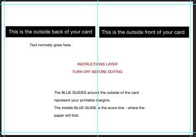 greeting card template photoshop photoshop cs6 greeting card setup tutorial