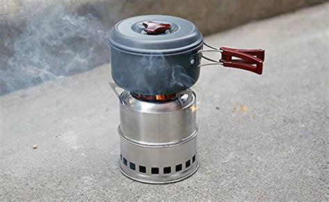 Usmile® Portable Lightweight Stainless Steel Wood Burning Stove Small Wood Stoves Wood Pellet Do You Need Oil For Stovetop Popcorn Geepas Gas Stove In India Stoves Cooker Hood Spare Parts Can I Put A Wood Burning Conservatory Heating Water With Cook Coleman Outdoor Grill And Silver Blk How To Use Top Food Steamer Jenn Air Downdraft