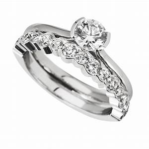 Wedding Favors Engagement Ring And Wedding Band Sets For