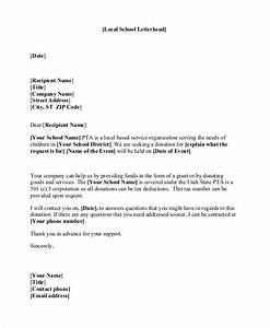 sample donation letter 10 examples in word pdf With donation letter template for schools