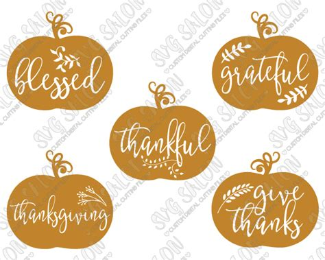 Browse 50 vector icons about thanksgiving term. Blessed Thanksgiving Pumpkin Cut Files in SVG, EPS, DXF ...