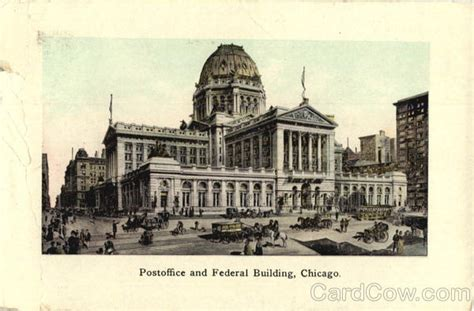 Post Office And Federal Building Chicago, Il