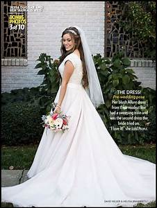 beautiful bride dress ben and jessa seewald With jessa seewald wedding dress