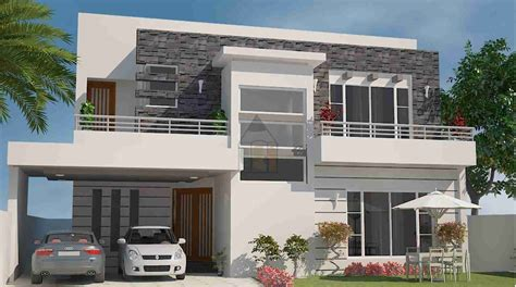 Home Design Plans In Pakistan by One Kanal House Plan With Style Design The