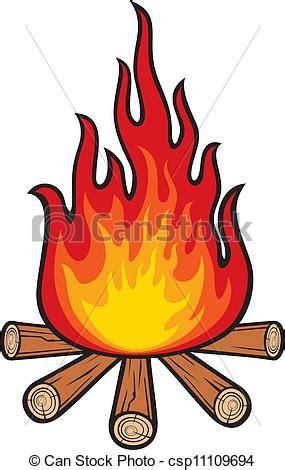 Fireplace Der Clip - eps vektoren lagerfeuer csp11109694 suchen sie nach