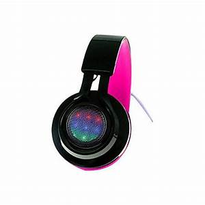Xtreme Cables Neon Remix Light Up Headphones by fice