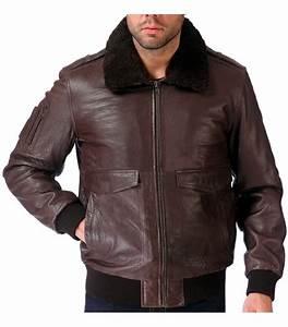 Blouson Cuir Aviateur Homme : blouson aviateur homme cuir mouton marron col mouton ~ Dallasstarsshop.com Idées de Décoration