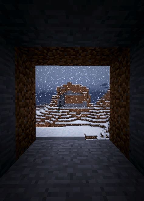 minecraft  winter animated gifs minecraft building