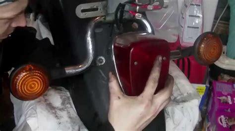 Rear Fender Deconstruction Yamaha Xvs Youtube
