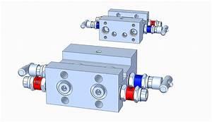 Md44h 4-valve Manifold  H-type
