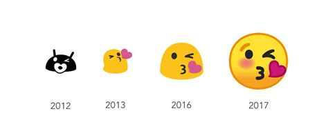 android os   emoji redesign
