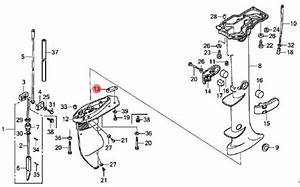 Honda Outboard Motor Parts Diagram