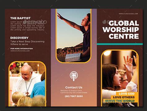 Church Brochures Templates by 10 Popular Church Brochure Templates Design Free Psd