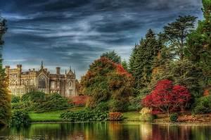 Sheffield, Park, Garden, Uk, Park, Castle, The, Sky, Trees, Hdr, Nature, Hd, Wallpaper