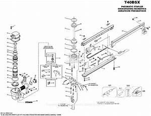 Bostitch T40bsx Parts Diagram For Stapler