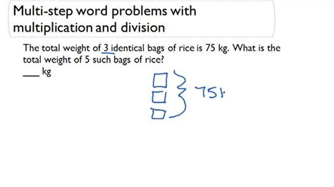 Division Two Step Word Problems  Driverlayer Search Engine