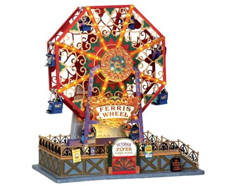 Lemax Halloween Houses 2015 by Lemax Village Collection Victorian Flyer Ferris Wheel With