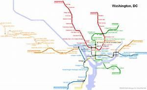 Карта метро Вашингтона. Магазин Метро Кэш энд Керри на ...