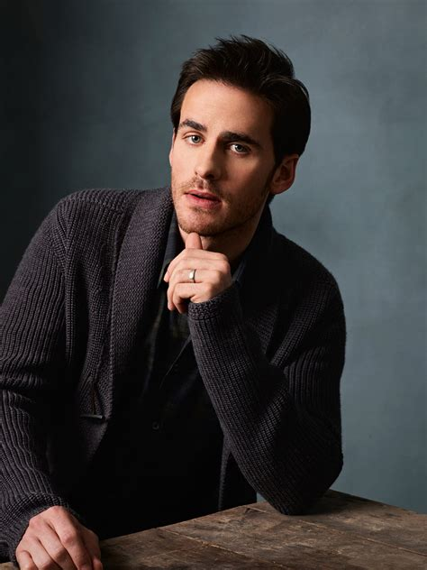 colin o donoghue personality a fc it s raining men and women hallelujah a fc