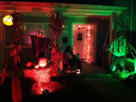 Ideas  Outdoor Halloween Decoration Ideas To Make Your