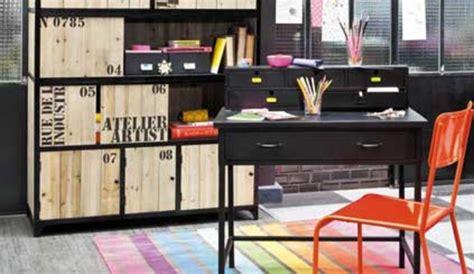 bureau industriel maison du monde amazing chambre garon style industriel papier peint