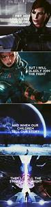 322 best images... Mass Effect Shepard Quotes