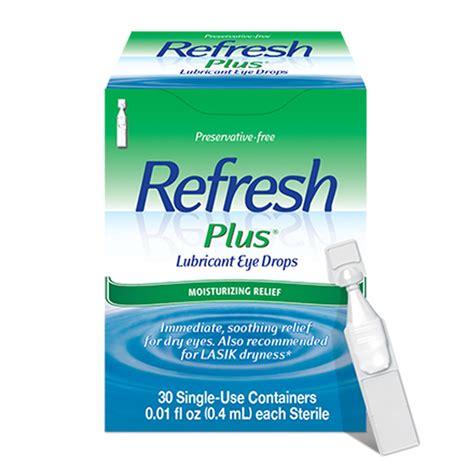Refresh Plus - Sterile Single-Use Eye Drops (30/Box)-25422