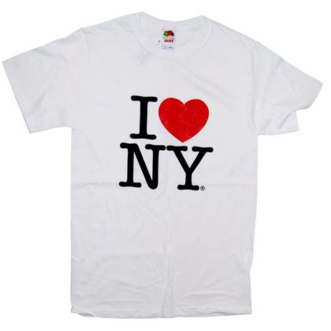 T Shirt Kaos New York classic white i new york shirt comes in all sizes