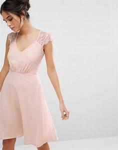 Robe Rose Pale Demoiselle D Honneur : robe rose p le tenue pour demoiselle d 39 honneur tendances de mode ~ Preciouscoupons.com Idées de Décoration
