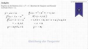Tangente Berechnen : tangente und normale berechnen youtube ~ Themetempest.com Abrechnung