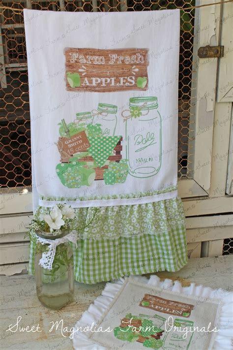 country kitchen towels flour sack kitchen towel farmhouse style cottage chic 2916