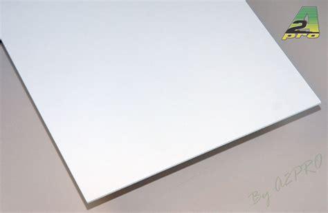 plaque en pvc blanc reverba